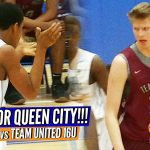 Nike vs Under Armour! Team United vs Team CLT at #PhenomQCShowcase Championship Highlights!