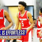 Josh Hall MADE IT LOOK EASY at 2019 #PhenomOpening!!! Raw Game Highlights!