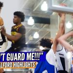 """YOU CAN'T GUARD ME!!"" Kelton Talford Has That ELITE FOOTWORK!!"