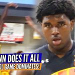 Noah Dunn EXPLODES for 35 — OLD SCHOOL Game & You Can't STOP Him!!