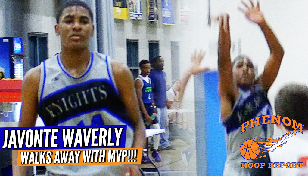 BREAKOUT!! Javonte Waverly Sophomore Point Genius Dishes & Shoots His Way to MVP