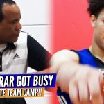 Kevin Keatts Watches Nick Farrar Go For 42 in Team Camp!!