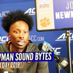 Clemson's John Newman ACC Media Day Snippet!!!