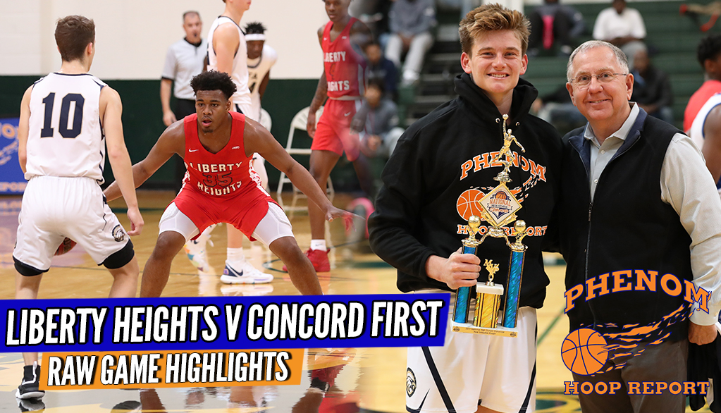 Liberty Heights x Concord 1st Assembly was HIGH LEVEL!! D1s ACROSS THE FLOOR!!! Full Game Highlights