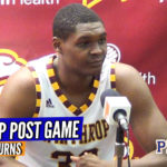 Postgame Interviews: Coach Pat Kelsey/ DJ Burns Jr. (Winthrop)