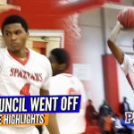 Ricky Council IV 360 JAM!!! Council x Hamilton Combine for 47 vs N. Durham; Raw Game Highlights