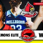 6'8″ with a clip… Future Louisville Cardinal RING READY (Week 1 of the #HoopStateLeague)