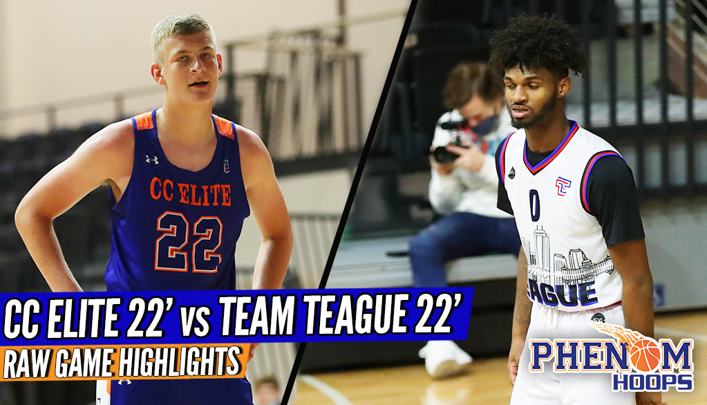 HIGHLIGHTS: Team Teague 22′ vs CC Elite 22′ Independent POWERS Face-Off at #PhenomGrassrootsTOC