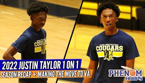 INTERVIEW: 2022 Justin Taylor Making the Move to VA + Adding to HIS Game & Recapping the Season!